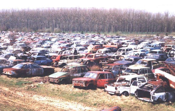file di automobili