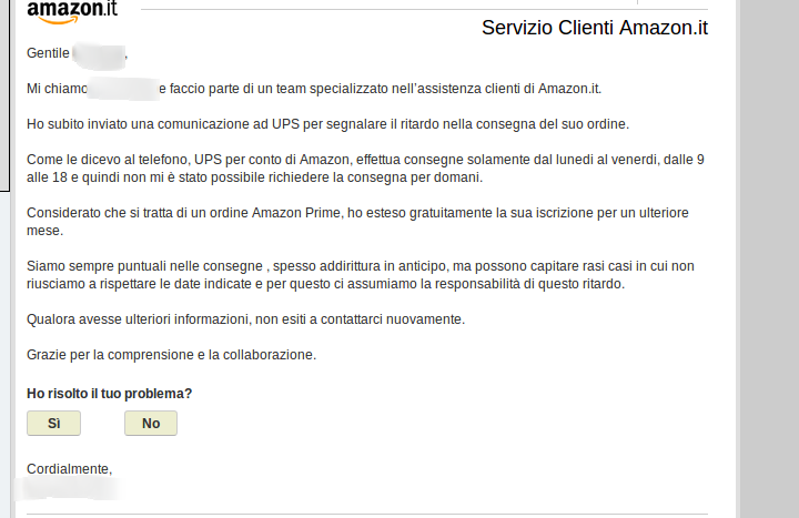 Amazon Assistenza Numero Verde Email